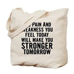 Stronger Tomorrow Tote Bag