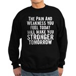 Stronger Tomorrow Sweatshirt (dark)