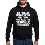Stronger Tomorrow Hoodie (dark)