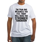 Stronger Tomorrow Fitted T-Shirt