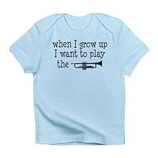 Future Trumpet Player Kids Infant T-Shirt