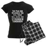 Stronger Tomorrow Women's Dark Pajamas