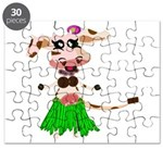 Luna, the hula-hula moo-cow Puzzle