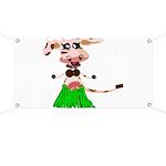 Luna, the hula-hula moo-cow Banner