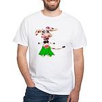 Luna, the hula-hula moo-cow White T-Shirt