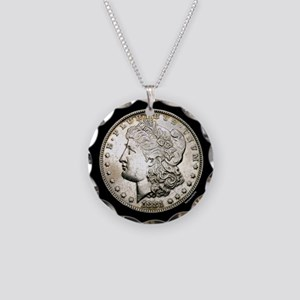 Morgan Necklace Circle Charm