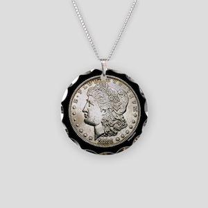Morgan Necklace Circle Charm