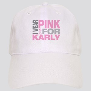 I wear pink for Karly Cap