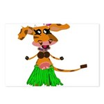 Sola the hula-hula moo-cow Postcards (Package of 8