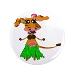 "Sola the hula-hula moo-cow 3.5"" Button"