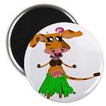 Sola the hula-hula moo-cow Magnet