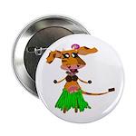 "Sola the hula-hula moo-cow 2.25"" Button"