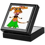 Sola the hula-hula moo-cow Keepsake Box