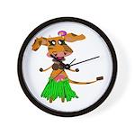 Sola the hula-hula moo-cow Wall Clock