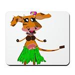 Sola the hula-hula moo-cow Mousepad