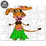 Sola the hula-hula moo-cow Puzzle