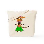 Sola the hula-hula moo-cow Tote Bag