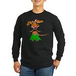 Sola the hula-hula moo-cow Long Sleeve Dark T-Shir
