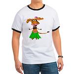 Sola the hula-hula moo-cow Ringer T