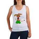Sola the hula-hula moo-cow Women's Tank Top
