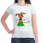 Sola the hula-hula moo-cow Jr. Ringer T-Shirt