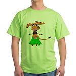 Sola the hula-hula moo-cow Green T-Shirt