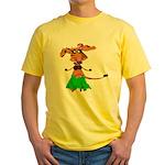 Sola the hula-hula moo-cow Yellow T-Shirt