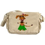 Sola the hula-hula moo-cow Messenger Bag