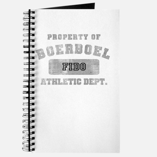 Customizable Boerboel Journal