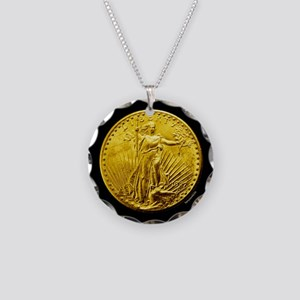 St. Gaudens Necklace Circle Charm