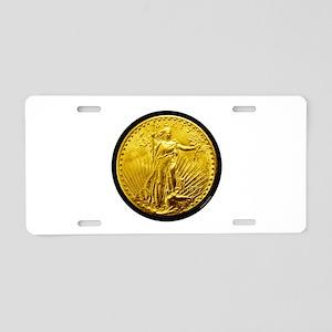 St. Gaudens Aluminum License Plate