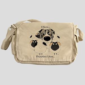 Aussie - I Herd... Messenger Bag