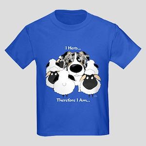 Aussie - I Herd... Kids Dark T-Shirt