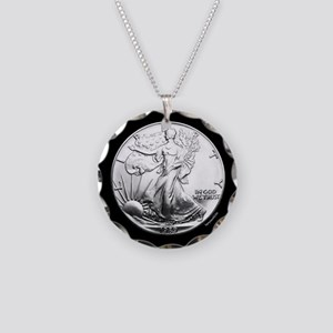 SAE Necklace Circle Charm