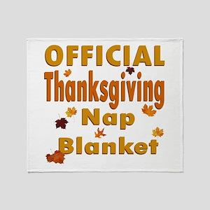 Thanksgiving Nap Throw Blanket