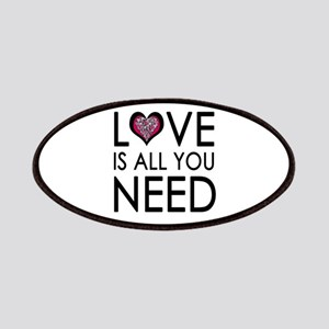 'Love Is All You Need' Patches