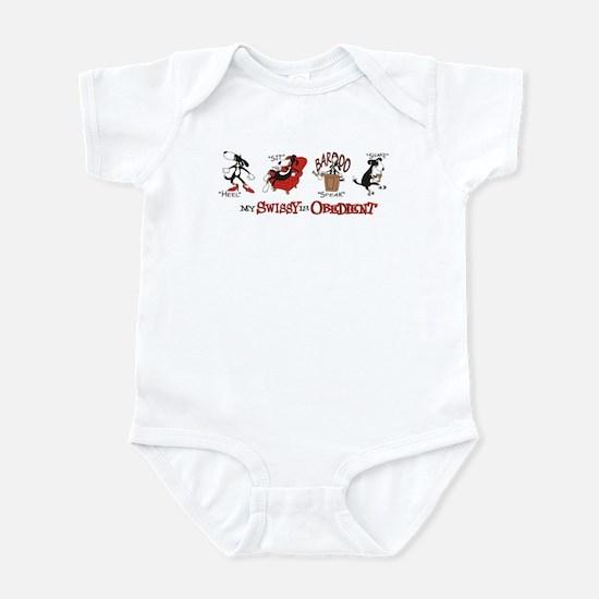 My Swissy IS Obedient Infant Bodysuit