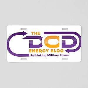 DEB Logo Aluminum License Plate