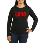Logo Women's Long Sleeve Dark T-Shirt