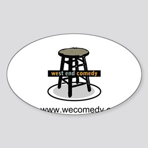 West End Comedy Sticker (Oval)