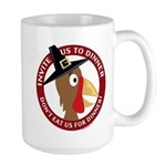 Vegan Thanksgiviing Large Mug