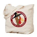 Vegan Thanksgiviing Tote Bag