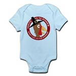 Vegan Thanksgiviing Infant Bodysuit
