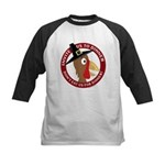 Vegan Thanksgiviing Kids Baseball Jersey