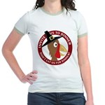 Vegan Thanksgiviing Jr. Ringer T-Shirt