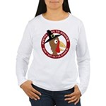 Vegan Thanksgiviing Women's Long Sleeve T-Shirt