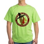 Vegan Thanksgiviing Green T-Shirt