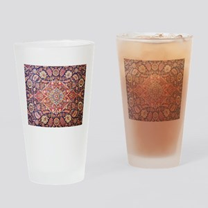 Persian carpet 1 Drinking Glass