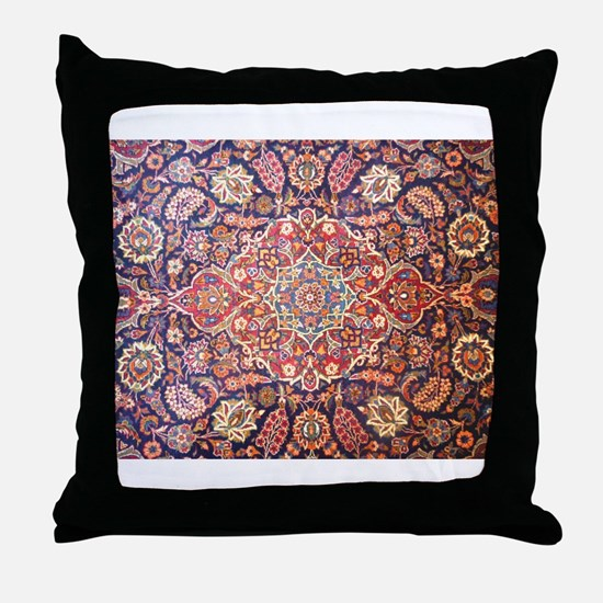 Persian carpet 1 Throw Pillow