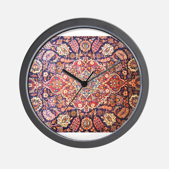 Persian carpet 1 Wall Clock